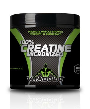 Product image 100%  Micronized Creatine 400g (80 Servings of Creatine 5000mg)