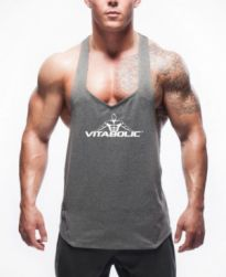 Photo V Neck Tank Top Mens